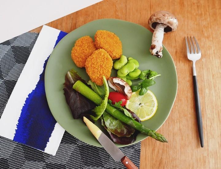 Pour les carnivores la boucherie végétale Nuggets
