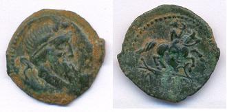Bronze Rutènes à légente TATINOS 3692R0