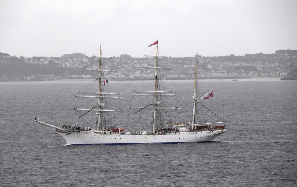 le bateau d'Ajonc à découvrir trouvé par Blucat Statsraad-lehmkuhl