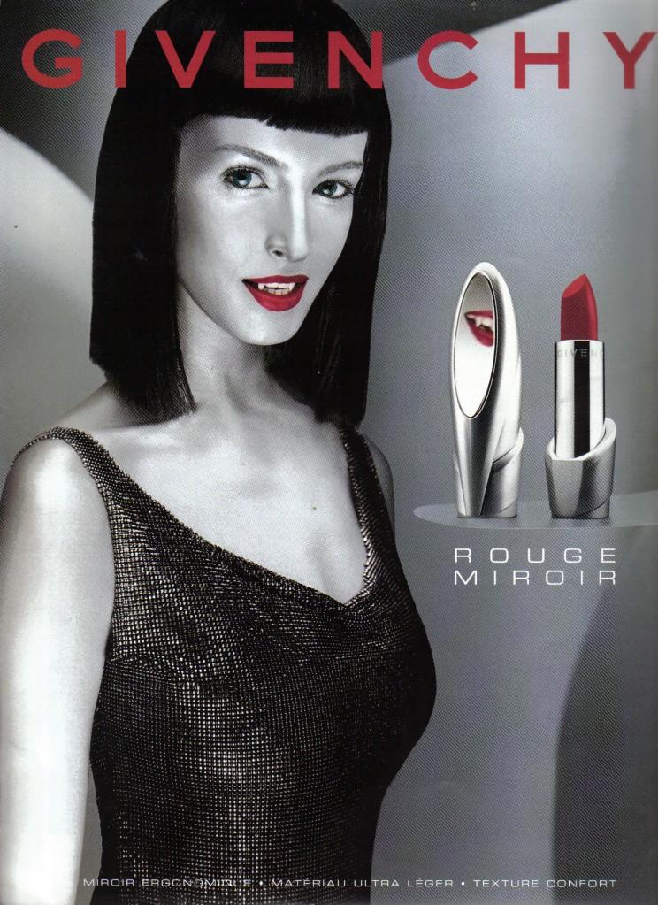 Gamme de Produits de beauté AMARANTHE pour vampires Pub-Givenchy_vampire-744x1023