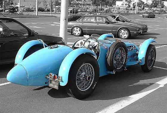 Basé sur l'ordre alphabétique, des noms de voitures, camions, dragsters, vélos, motos, tracteurs, bref tout ce qui roule !... 1939TalbotLago3