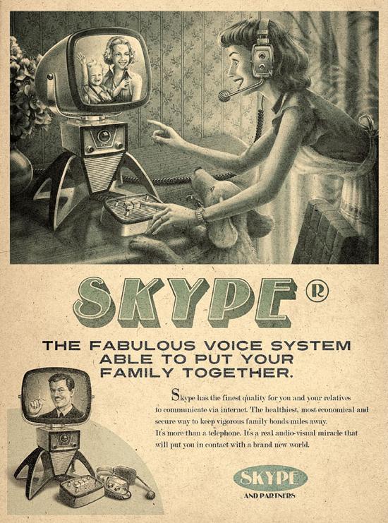 Publicités vintage Skype-retro-vintage-pub-02