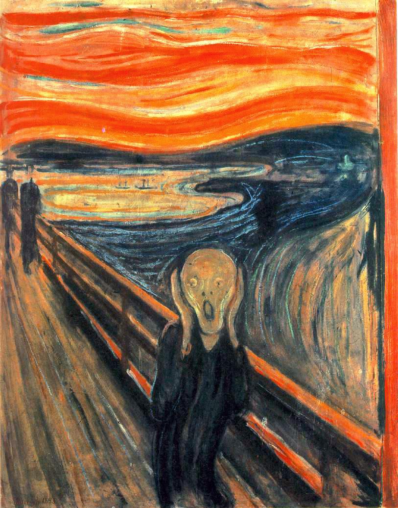 Le Cri, MUNCH EdvardMunch-TheScream-1893