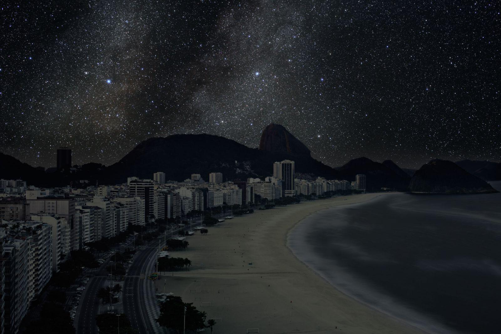 Las ciudades del mundo sin contaminación lumínica RIO