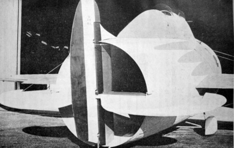 Le Stipa-Caproni : un avion tonneau précurseur du moteur à réaction ! Stipa-caproni-avion-italie-04-800x508