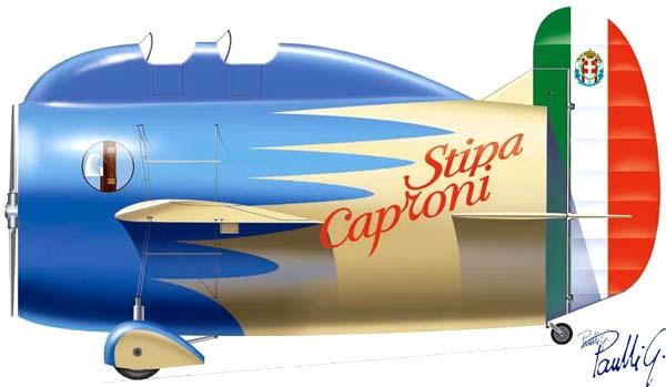 Le Stipa-Caproni : un avion tonneau précurseur du moteur à réaction ! Stipa-caproni-avion-italie-11
