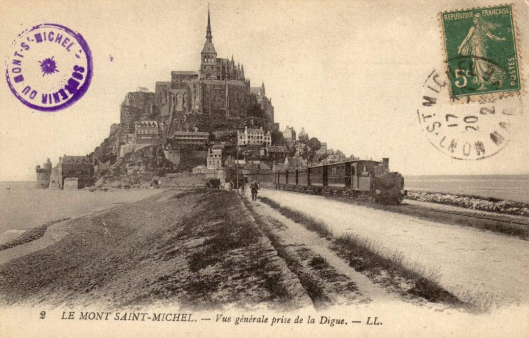 Le Mont Saint michel à l'époque du train à vapeur Train-vapeur-mont-saint-michel-04-1080x691