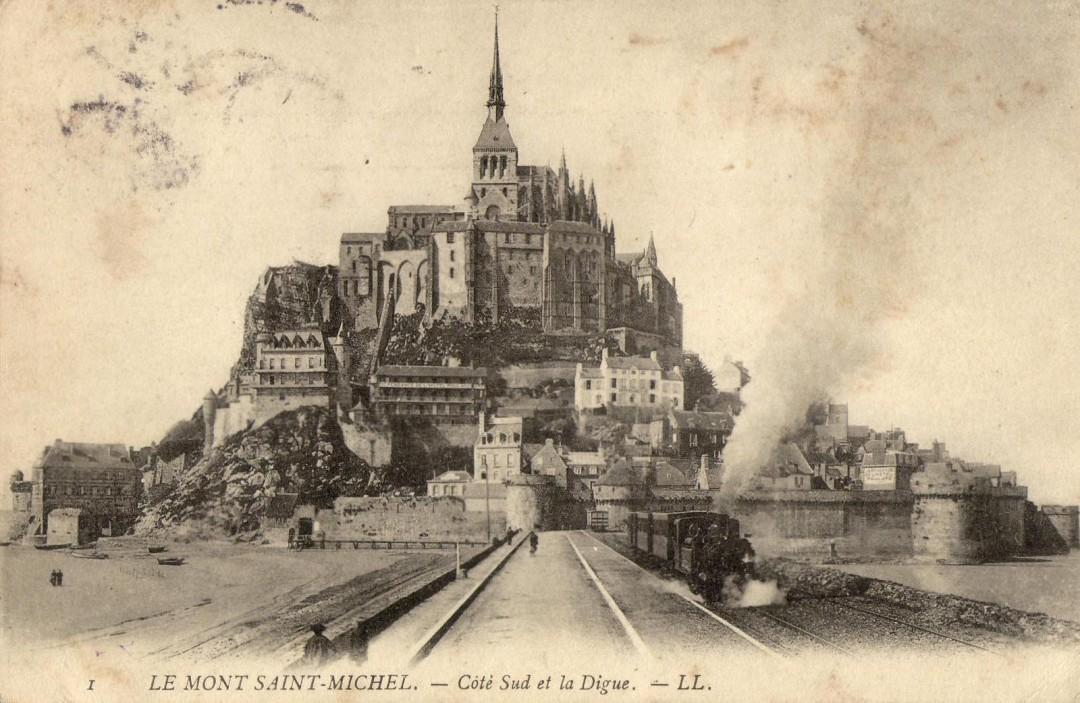 Le Mont Saint michel à l'époque du train à vapeur Train-vapeur-mont-saint-michel-09-1080x703