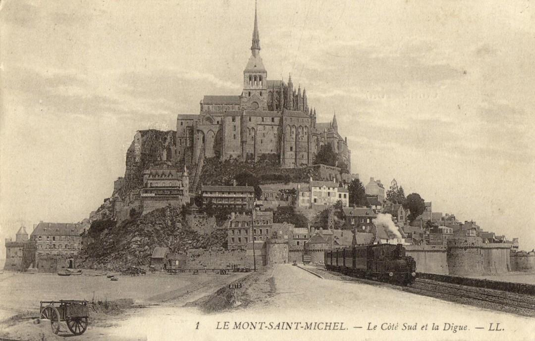 Le Mont Saint michel à l'époque du train à vapeur Train-vapeur-mont-saint-michel-10-1080x689