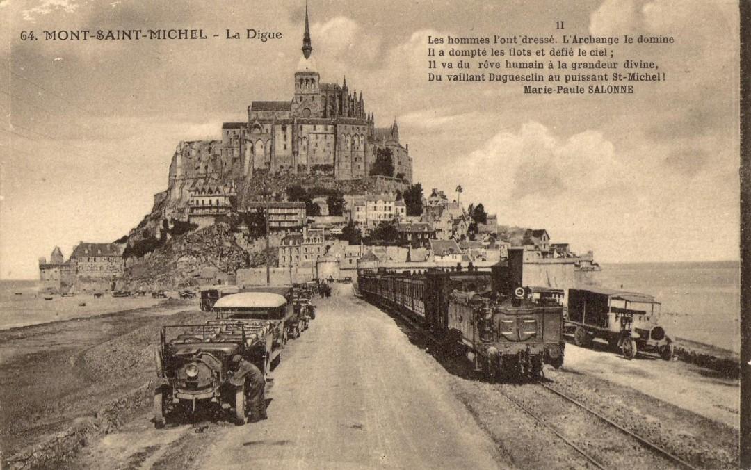 Le Mont Saint michel à l'époque du train à vapeur Train-vapeur-mont-saint-michel-11-1080x676