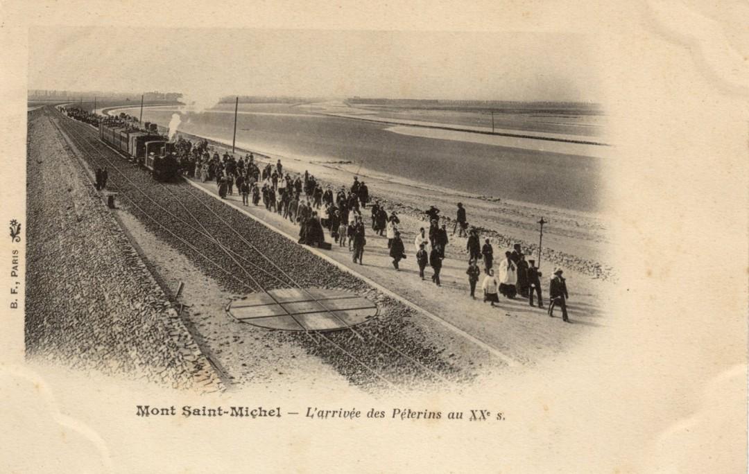 Le Mont Saint michel à l'époque du train à vapeur Train-vapeur-mont-saint-michel-12-1080x684