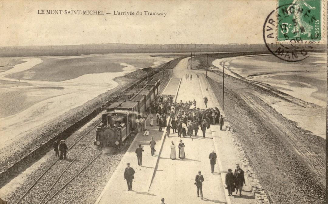 Le Mont Saint michel à l'époque du train à vapeur Train-vapeur-mont-saint-michel-14-1080x671