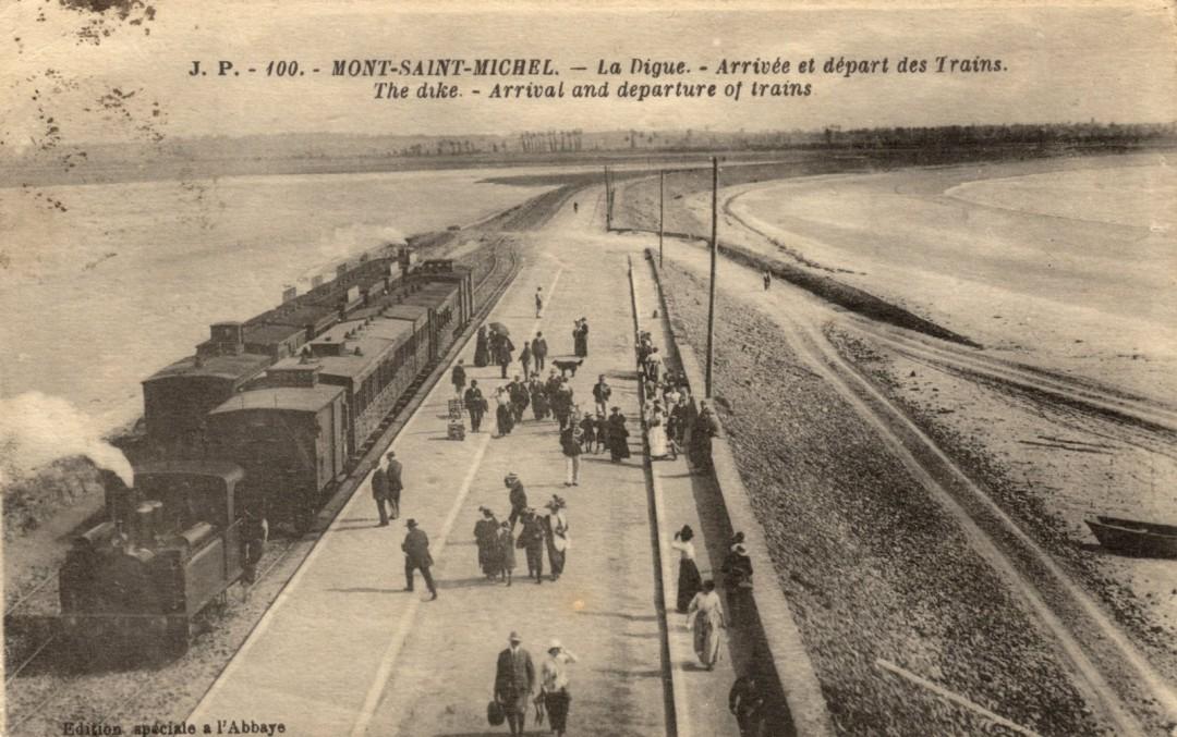 Le Mont Saint michel à l'époque du train à vapeur Train-vapeur-mont-saint-michel-16-1080x677