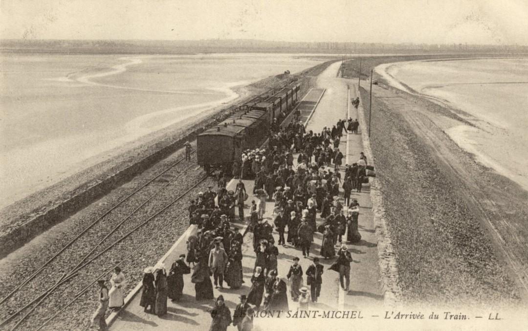 Le Mont Saint michel à l'époque du train à vapeur Train-vapeur-mont-saint-michel-18-1080x676