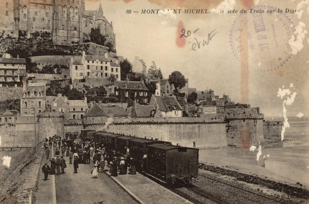 Le Mont Saint michel à l'époque du train à vapeur Train-vapeur-mont-saint-michel-20-1080x716