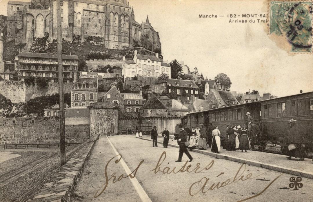 Le Mont Saint michel à l'époque du train à vapeur Train-vapeur-mont-saint-michel-23-1080x697