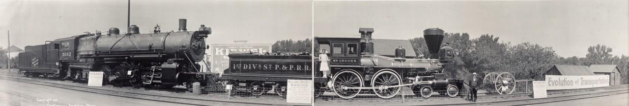 Des photos panoramiques anciennes de véhicules (Reportage photo) By Laboiteverte 16-Evolution-of-Transportation-1913-1280x217