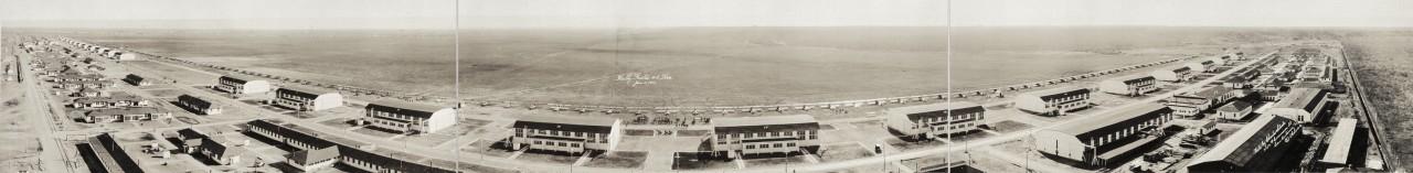 Des photos panoramiques anciennes de véhicules (Reportage photo) By Laboiteverte 23-Kelly-Field-2-Tex-Jan-5-1919-1280x157