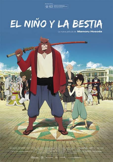 Cine y series de animacion - Página 6 El-nino-y-la-bestia-cartel