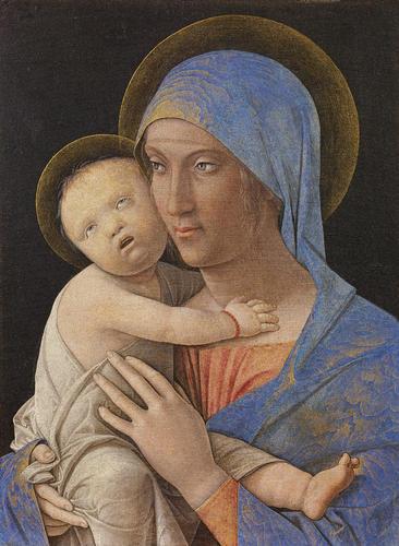 La Madonna. E molti dipinti sulla Natività da Samael. 58AC00024