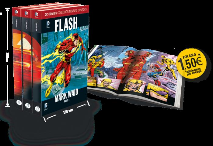 759-762 - [DC - Salvat] La Colección de Novelas Gráficas de DC Comics  - Página 3 Flash-libros