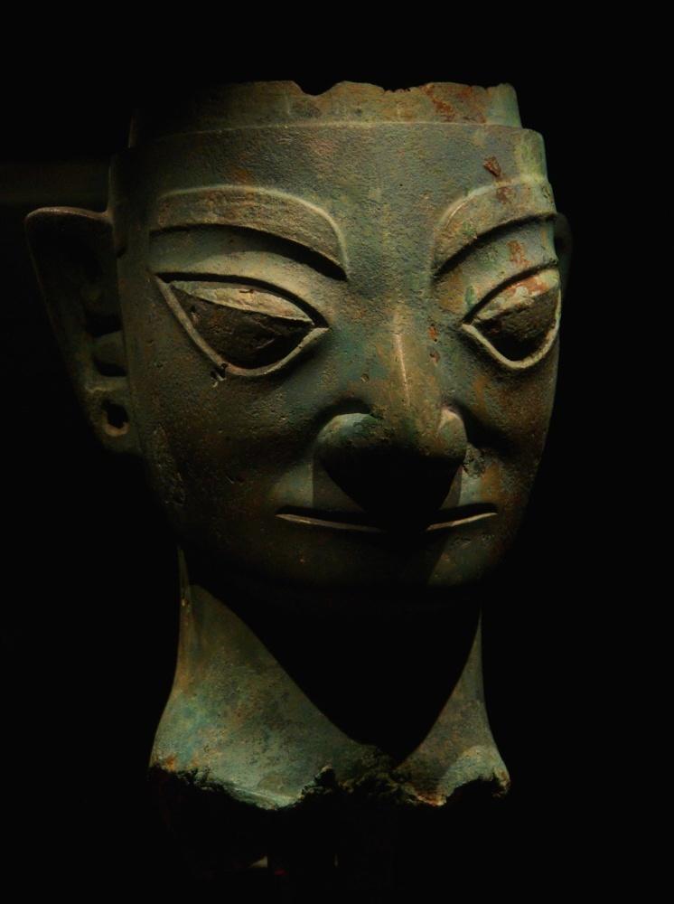 La sculpture chinoise ancienne Sanxingdui