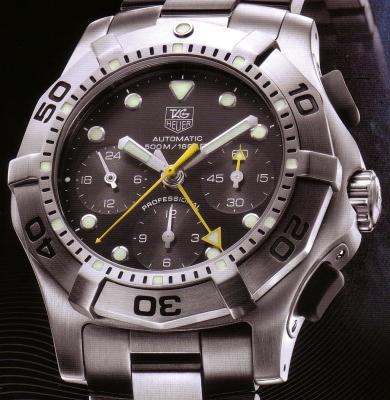 chronographes avec compteur minutes central 4970