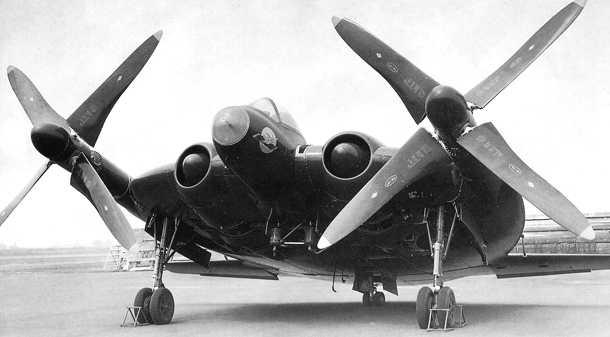 "V-173 ""Flying Pancake"" (Sword 1/48) XF5U-1-02"