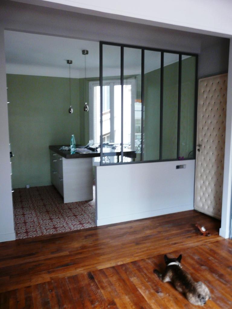 moderniser le rez-de-chaussée d'une maison ancienne - Page 4 Verriere%20toutou