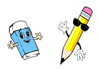 حديث ممتع بين القلم و الممحاة  Uut87jhvc67