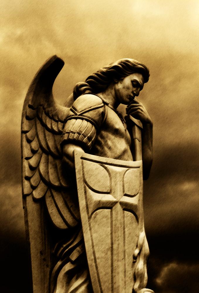 """Force Backs"" from Ancient Relics Archangel_michael_by_zischke-d4ilk5j"