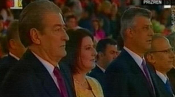 Abetarja Kombëtare, Berisha: Fqinj, çlirohuni nga shqiptarofobia Abetatare-e1337249341241