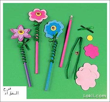 زهور أقلام الرصاص Pin