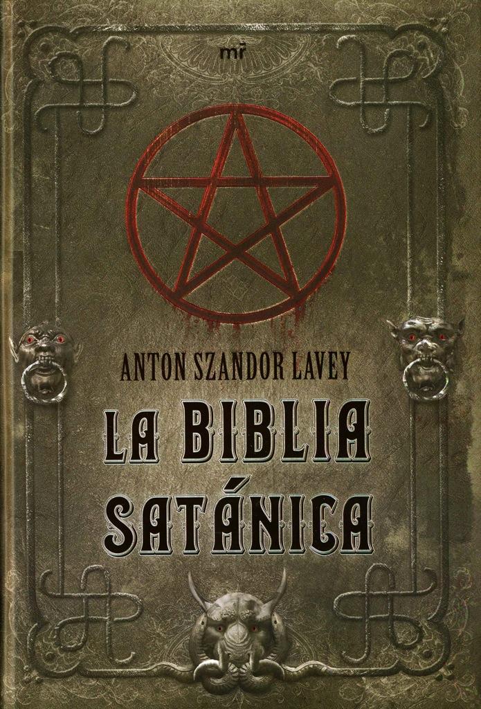 vampiro - Satanismo: Anton LaVey y la Iglesia de Satán, El Templo de Seth y El Templo del Vampiro La-biblia-satanica