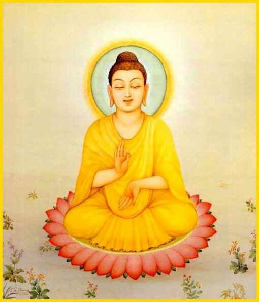 Soutrâ des comportements bénéfiques - Mahâ-Mângala Soutrâ Bouddha