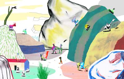 Illustration, illustrateurs (contemporains) Galvin