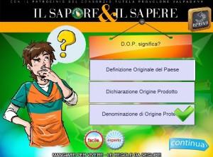 Il Sapore & il Sapere, Quiz1-300x222