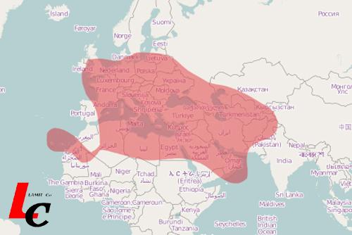 طريقة تقنية لالتقاط اقمار Atlantic bird1 و EutelW3 و eutelsatW6  Eutelsat-w6-coverage-europe-middle-east-north-africa-beam