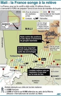 L'intervention militaire française au Mali vise-t-elle à assurer les intérêts d'Areva ? - Page 2 Carte-de-situation-du-mali-ou-des-combats-se-poursuivent-sur_1002819