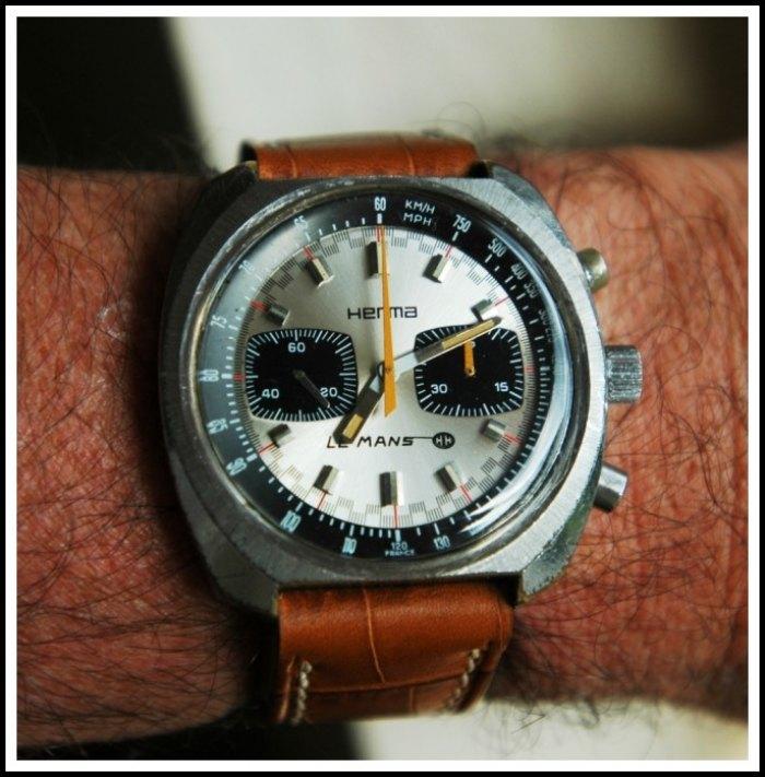 Enicar - [Postez ICI les demandes d'IDENTIFICATION et RENSEIGNEMENTS de vos montres] - Page 36 Herma5zuz