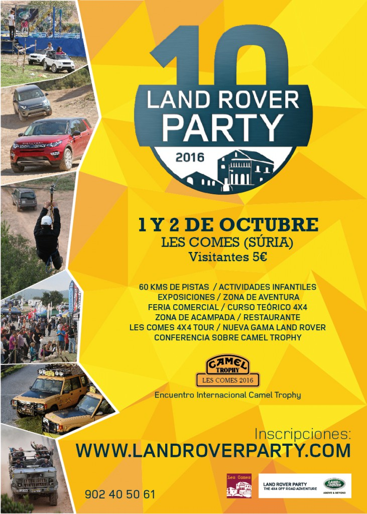 Land Rover Party 2016 | 10º aniversario Land-Rover-Party-2016-ES-731x1024