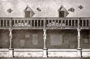 La peste noire à Rouen: l'aître Saint-Maclou Aitre_2