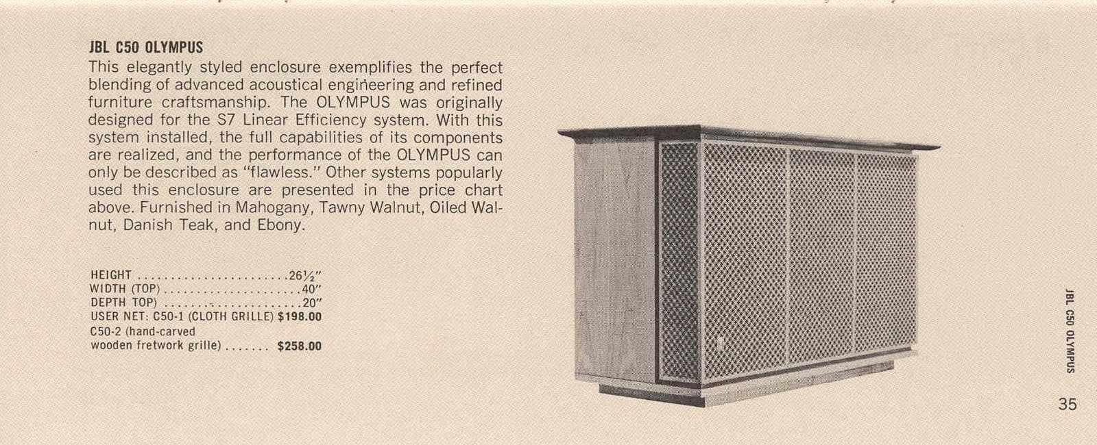 ORIGINAL INCONNU années 60 en 2 voies (38cm + compression) Page37