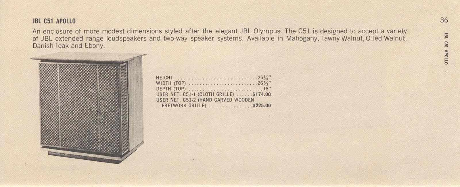 ORIGINAL INCONNU années 60 en 2 voies (38cm + compression) Page38