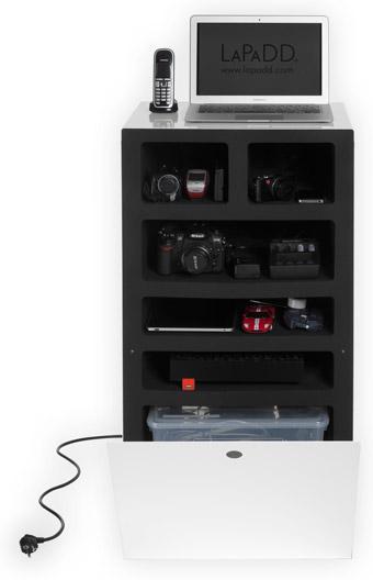 [Sy-m] Photos de mon salon ( en cours ) Besoin de conseils - Page 3 Meuble-boite-chargeur-lapadd-elephant-box-blanc-comment-ca-marche
