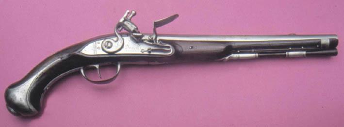 Identification poinçons et pistolet à silex. 1733penel