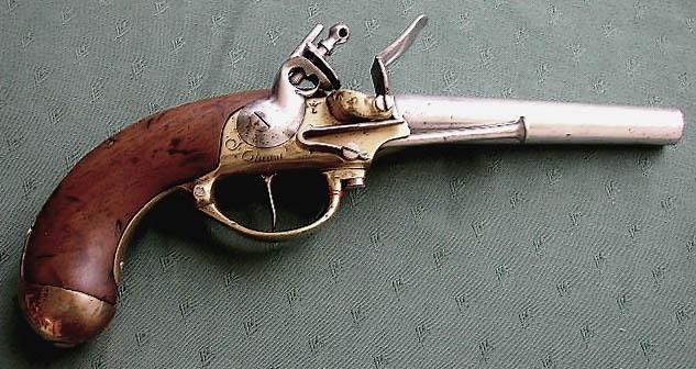 pistolet ancien  1777vaury