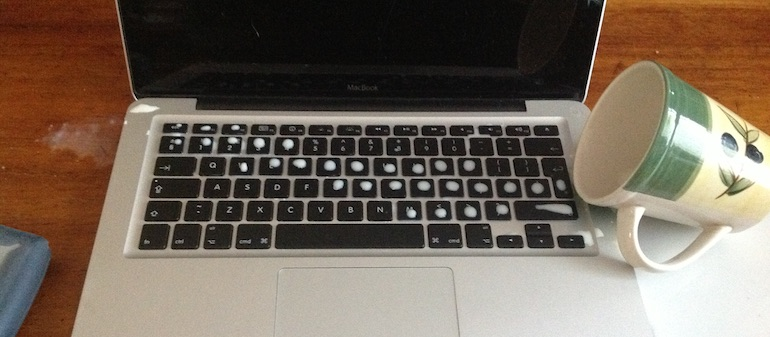 Sửa Laptop vô nước Thành phố Hồ Chí Minh Liquid-spill