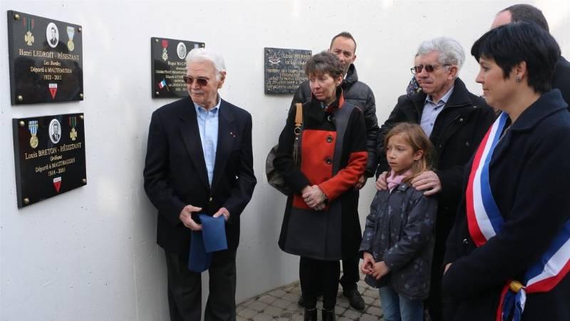 LORRIS : l'émouvant hommage à Louis BRETON, héros de la Résistance 2598218