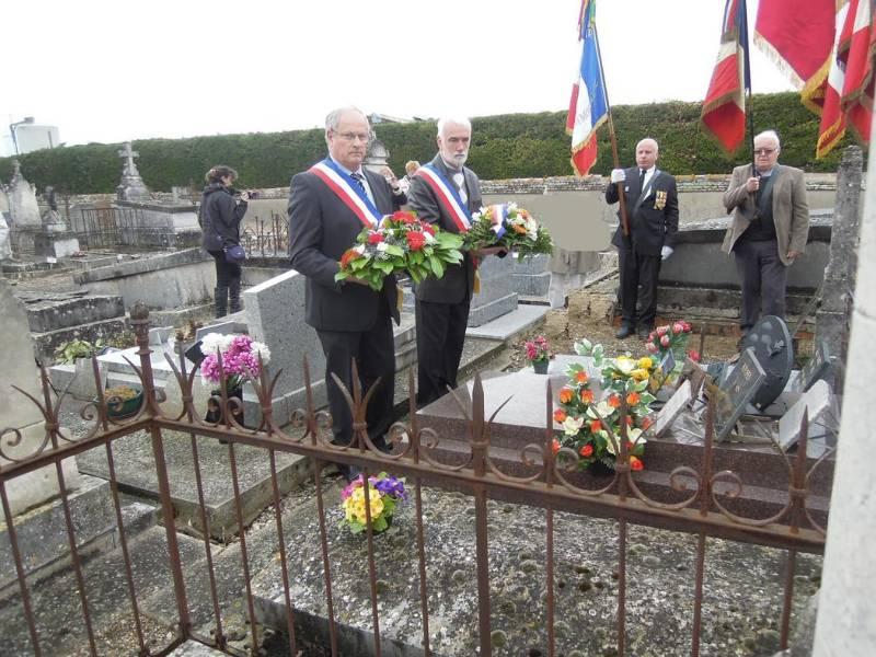 GIDY : Hommage à Lucien BOURGON, instituteur déporté 2603613